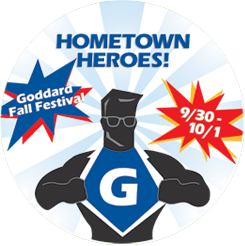 Goddard Fall Festival Hometown Heroes! September 30-October 1, 2016